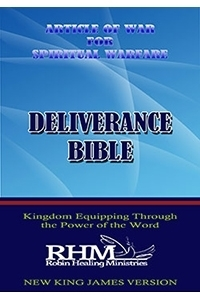 Article of War for Spiritual Warfare Deliverance Bible